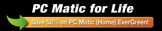 PC Matic for Life